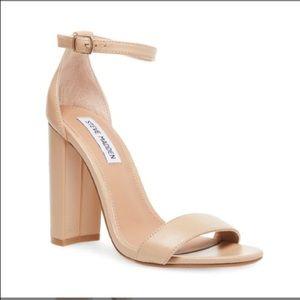 Steve Madden Carrson Blush Leather Heels